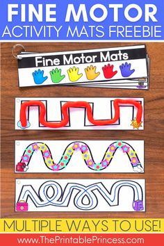 Free fine motor activities - Kindergarten teachers, are you looking for another way to strengthen your students' fine motor skills? Check out this fun and FREE activity that can be used multiple ways. Great for PreK, Kindergarten or homeschool. This free fine motor activity is easy to prep and can be used with play dough, mini erasers, or dry erase markers.