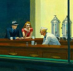Edward Hopper (That 70's show has a scene that imitated this)