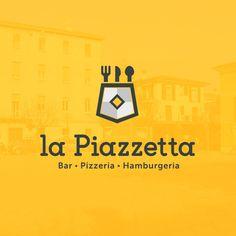 """Popatrz na ten projekt w @Behance: """"La Piazzetta - Corporate identity"""" https://www.behance.net/gallery/35639909/La-Piazzetta-Corporate-identity"""