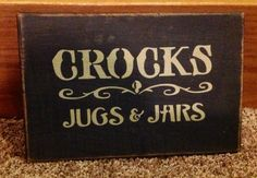 Primitive Wood Sign.....ofgfaap by hootnanniesbyjeanne on Etsy, $17.00