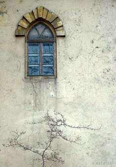Arched window (by Arnis Krumins)