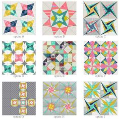 Wonderful quilt block ideas for making minis from Elizabeth Dackson at Don't Call Me Betsy