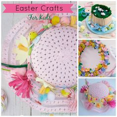 easter crafts for kids by little button diaries