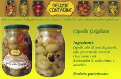 Cipolle grigliate in olio di semi | Delizie Contadine