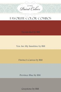 I need to quit pinning and get to paintin' ! Great website full of paint color ideas, combinations