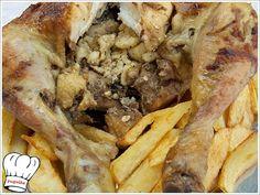 ΚΟΤΟΠΟΥΛΟ ΣΟΥΒΛΑΣ ΓΕΜΙΣΤΟ!!! Greek Beauty, Cheesesteak, Ethnic Recipes, Food, Essen, Meals, Yemek, Eten