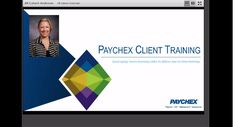 This DemoFest project, Paychex Client Training, shows what one company did to better support its clients in adapting to frequent software changes. By providing targeted, task-based microlearning in video format, Paychex enabled clients to get training anywhere, any time, on any device.