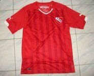 Club Atletico Independiente Home 14-15 Soccer Jersey