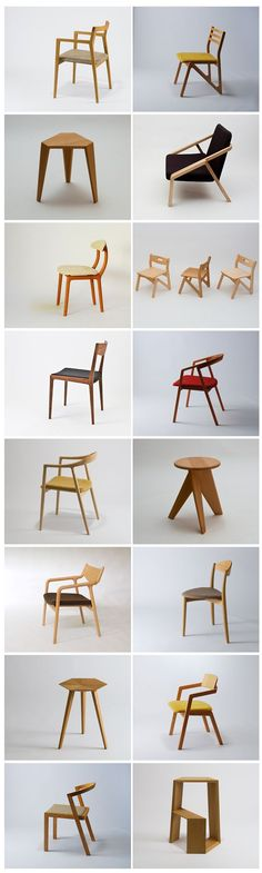 Elegance and comfort, what more can you ask from these fabulous modern chairs? Get inspired for your interior projects Wood Furniture, Modern Furniture, Furniture Design, Modern Chairs, Modern Chair Design, Modern Wood Chair, Furniture Inspiration, Wood Design, Wood Chair Design