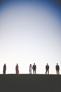 This is sort of eerie, but gorgeous at the same time. Bridal party portrait. Photography By / http://hawesphotography.com