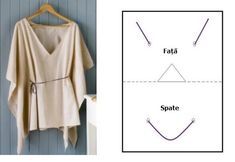 RE: simple drapey tunic Dress Patterns, Sewing Patterns, Sewing Alterations, Barbie, Poncho, Pattern Cutting, Refashion, Diy Clothes, Stylish Clothes