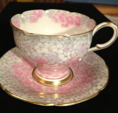 Paragon Fine Bone China England Beautiful Cup and Saucer Appointment by Queen | eBay