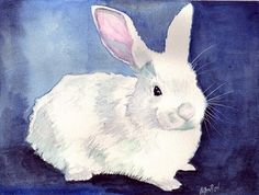 I dont' think I will end up with a rabbit on my card... but it would be very like me. Maybe a rabbit in water color?