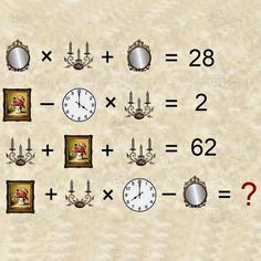 Math Logic Puzzles, Mind Puzzles, Puzzle Quotes, Brain Teasers With Answers, Tricky Riddles, Algebra Equations, Math Challenge, Math Problem Solving, Third Grade Science