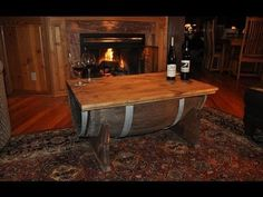 How to Make a Coffee Table from a Whiskey Barrel | The Art of Manliness