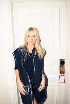 She's the Brazilian blogger with a closet to kill. http://www.thecoveteur.com/lala-rudge-blog/