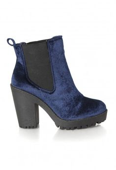 Arria Velvet Wedges - Footwear - Missguided