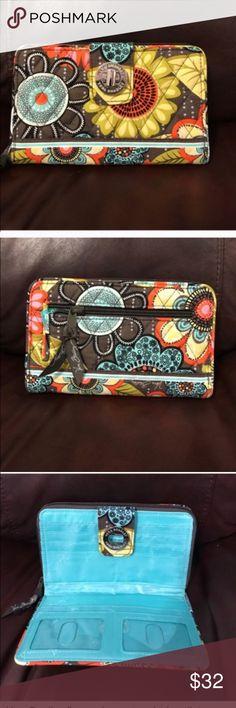 Vera Bradley flower shower turn lock wallet Vera Bradley flower shower turn lock wallet Vera Bradley Bags Wallets
