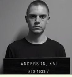 """enjoyurlattebitch: """"Never saw Kai's mugshot anywhere, thought it was interesting. 11 Great Again """" American Horror Story Characters, American Horror Story 3, Evan Peters, Rock N Roll, Dr Evans, The Almighty Johnsons, Ahs Cult, Horror Show, Real Housewives"""
