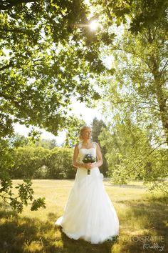 trouwfotografie Dronten #trouwjurk #bruid #klassiek