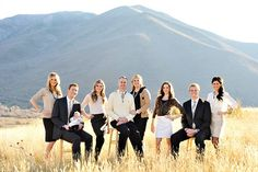 family photo ideas- background reads as a solid but frames the family well