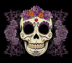 """""""Vintage Skull and Roses"""" iPhone & iPod Cases by Tammy Wetzel Flower Illustrations, Illustration Art, Crane, Coque Iphone 5c, Iphone 6, Vintage Style Tattoos, Skulls And Roses, Rose Art, Framed Prints"""