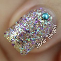 Time to Fall for Glitter: Shimmer Polish: Astrid