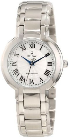 Bulova Women's 96L168 FAIRLAWN Classic round bracelet Watch Bulova. Save 33 Off!. $234.99. White mother of pearl dial. Water-resistant to 30 M (99 feet). Stainless steel case and bracelet. Flat mineral crystal. Precisionist quartz movement