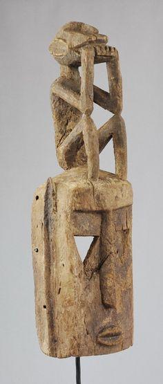 Grand masque KO ou singe blanc - Dogon Mali - White monkey mask MC0494