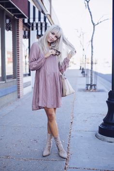 Babydoll dress.