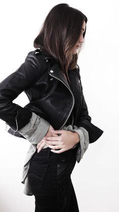 Closet Basics: A Moto Jacket and Black Jeans
