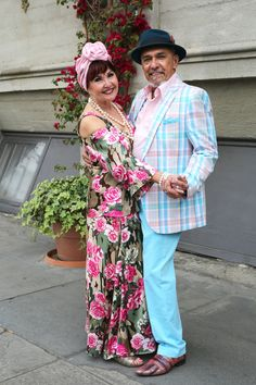 Robert and Elizabeth are always so colorful and vibrant. Check out the video below to see the dancing in the street.