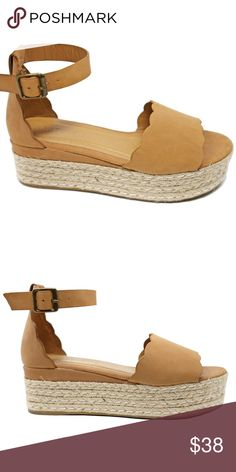 ab8284119bb Camel Open Toe Platform Espadrille Sandals Update your shoe collection with  these adorable comfy flatform sandals