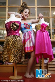 Cecilia Cassini-Fashion Designer who is only 10 years old