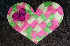A fun Valentine's Day Card Craft for Toddlers and the Whole Family // blog.rightstart.com @evolvingmommy