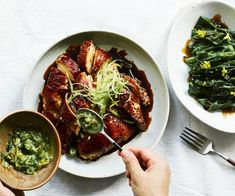 chinese meals It's a beloved staff meal at Melbourne restaurant Sunda for good reason. Chef Recipes, Slow Cooker Recipes, Asian Recipes, Cooking Recipes, Ethnic Recipes, Recipes Dinner, Snacks Recipes, Soup Recipes, Small Food Processor