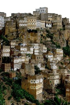 cristimoise:  Al Hajjarah, Yemen. Al Hajjarah sometimes spelled Al Hajarah or Al Hajjara, is a village in Yemen. It is located in the Manakhah District of the Sana'a Governorate, in the Haraz Mountains.