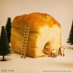 Give and take  http://miniature-calendar.com/130219/
