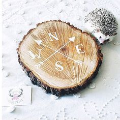 Hey, I found this really awesome Etsy listing at https://www.etsy.com/listing/216465420/rustic-tree-slice-sign-hand-painted