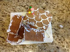 """DIY """"Gingerbread"""" House 