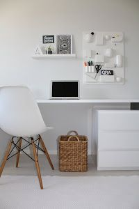Love this chair Office Decor, Home Office, Study Nook, Interior Decorating, Interior Design, Study Office, White Rooms, Home And Living, Home Furnishings