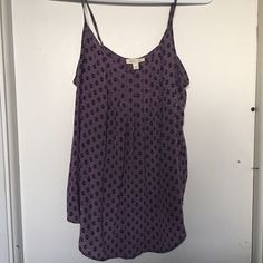 Anthropologie Silence + Noise Silk Cami Like new. Really cute on its own or with a denim jacket or blazer. It is a size L, but I am an XS-S and wore it as more of a drapey style. Really could fit any size. Anthropologie Tops Camisoles