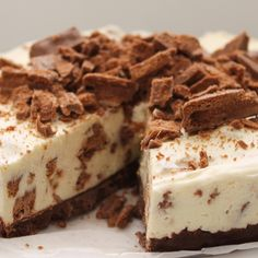 "#RecipeoftheDay: Tim Tam Cheesecake by Caty_Cake - ""Great dish. I have made it with Turkish delight family block, rum and raisin family block, Crunchie family block, very yummy, easy and never any left! Dessert staple in my book."" - TrixyNixy"