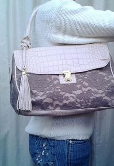 Beige Lace Shoulder Bag Louis Vuitton Damier, Chanel, Beige, Shoulder Bag, Lace, Classic, Pattern, Wedding, Outfits