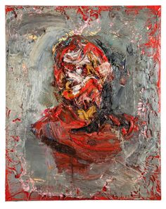 Antony Micallef, 'Self Portrait (Tyrant in Red and Grey).'