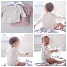 GaugPattern on PDF for Perlemorsgenser /Mother of Pearl Sweater  Sizes: 1 (2) 3 years Yarn: Double thread Fin from Du Store Alpakka 3-4 (4-5)5-6 skeins. Gauge