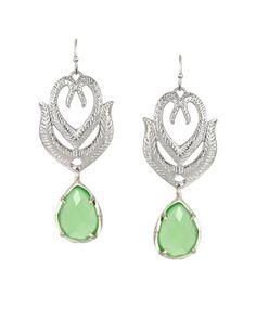 Paloma Earrings in Mint - Kendra Scott Jewelry
