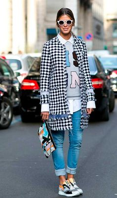 More MFW A/W 2015 Street Style | Fashion, Trends, Beauty Tips & Celebrity Style Magazine | ELLE UK