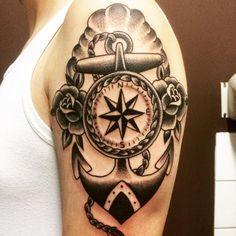 Nautical Arm Tattoo   Best tattoo design ideas