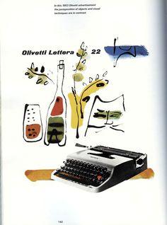 Paul Rand Advertising Design for Olivetti